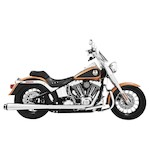 Freedom Performance American Outlaw True Dual Exhaust System For Harley Softail 2007-2014