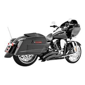 "1 1//4/"" BBlack 12/"" Diablo Prewired Kit 1996-2006 Harley Electra Glide w//Radio"