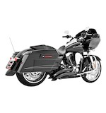 Freedom Performance Sharp Curve Radius Exhaust System For Harley Touring 1995-2014