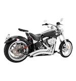 Freedom Performance Sharp Curve Radius Exhaust For Harley Rocker 2008-2010