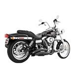 Freedom Performance Sharp Curve Radius Exhaust For Harley Dyna 1995-2005