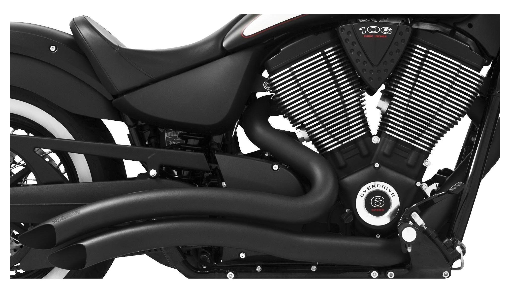 Freedom Performance Sharp Curve Radius Exhaust For Victory 2006 2016 Custom Kingpin Wiring Harness 10 8000 Off Revzilla