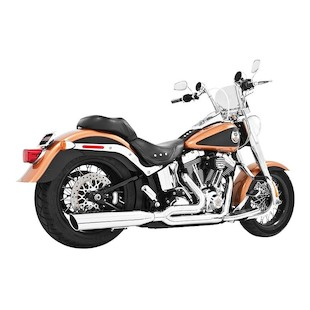 Freedom Performance Union 2-Into-1 Exhaust For Harley Softail 1986-2017