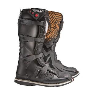 Fly Racing Maverik MX Boots Black / 15 [Demo]