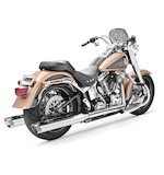 Freedom Performance Racing Slip-On Mufflers For Harley Softail Fat Boy and Deuce 2007-2014