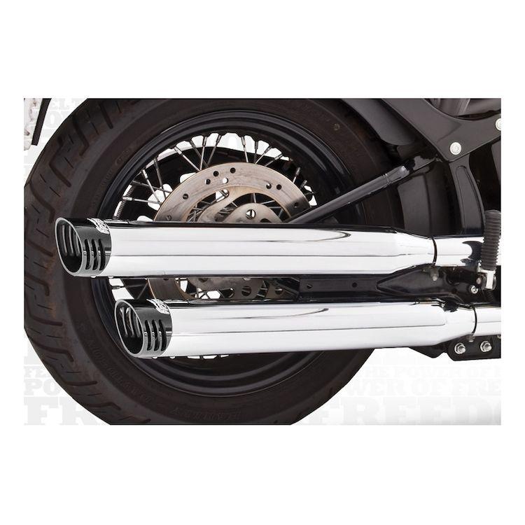 Freedom Performance Racing Mufflers For Harley Softail Deluxe / Cross Bones 2007-2017