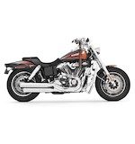 Freedom Performance Signature Mufflers For Harley Dyna Fat Bob and Wide Glide 2008-2015
