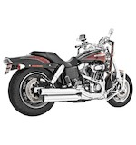 Freedom Performance Signature Mufflers For Harley Dyna Fat Bob / Wide Glide 2008-2017
