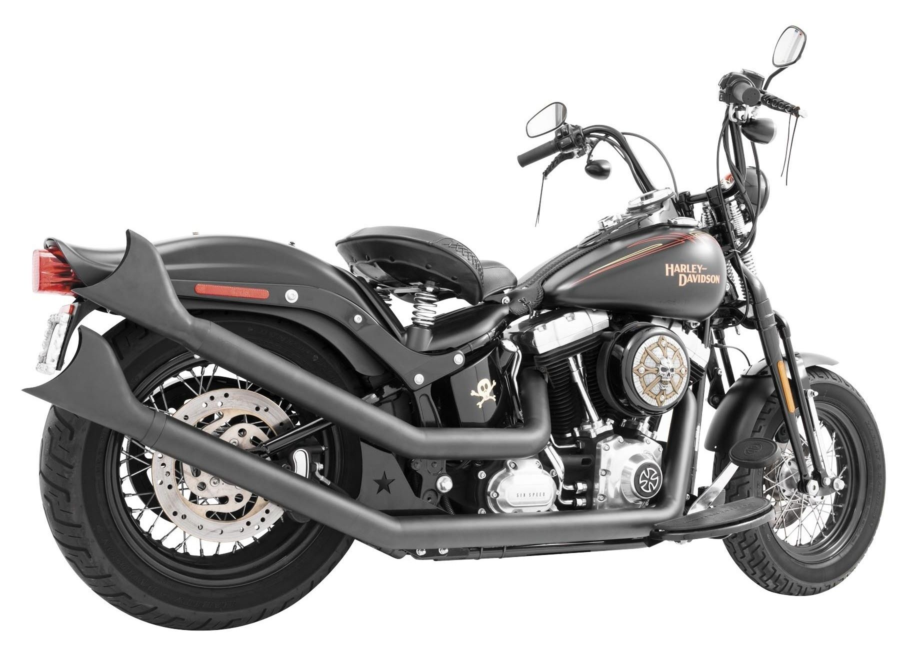 Freedom Performance Upswept Exhaust For Harley Softail