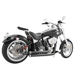 Freedom Performance Independence Shorty Exhaust For Harley Softail Rocker 2008-2010