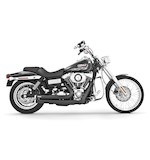 Freedom Performance Independence Shorty Exhaust System For Harley Dyna 2006-2014