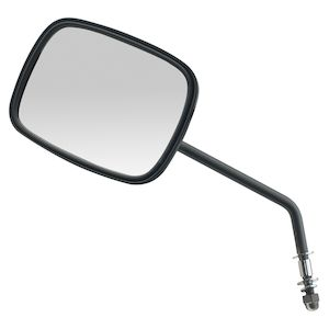 Custom Chrome OEM-Style Mirrors For Harley - Long Stem