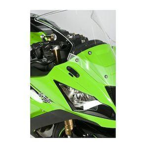 R&G Racing Mirror Blanking Plates Kawasaki ZX10R 2011-2015
