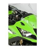 R&G Racing Mirror Blanking Plates Kawasaki ZX10R 2011-2014