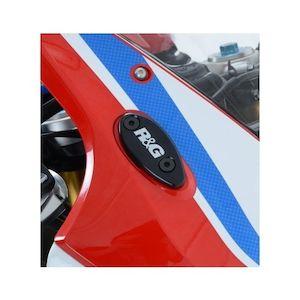 R&G Racing Mirror Blanking Plates Honda CBR1000RR 2012-2016