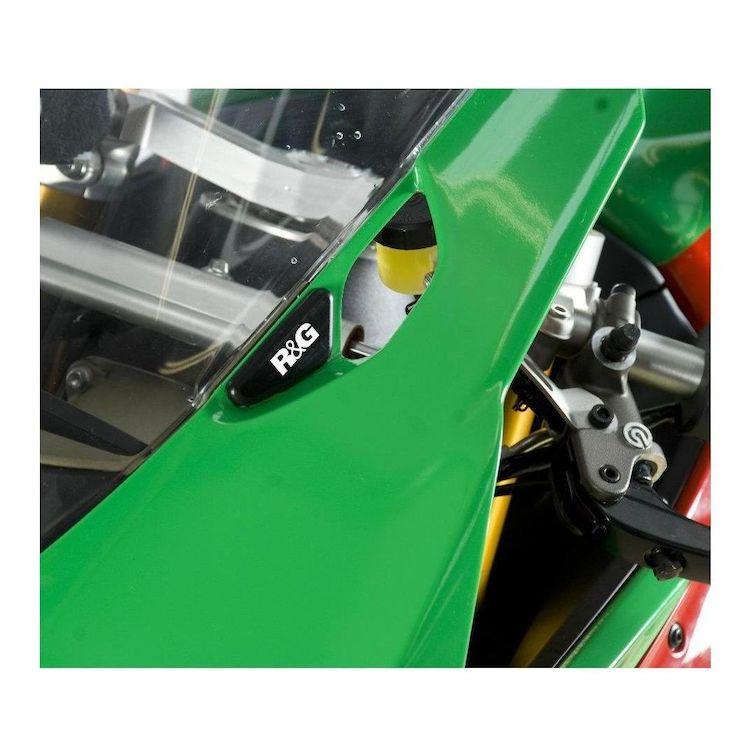 R&G Racing Mirror Blanking Plates Ducati 899 / 1199 Panigale