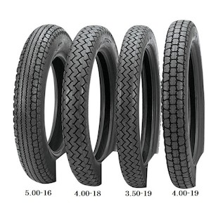 Avon Safety Mileage MKII Rear Tires