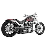 Freedom Performance American Outlaw High 2-Into-1 Exhaust For Harley Softail 1986-2015