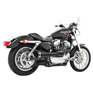 Freedom Performance American Outlaw High 2-Into-1 Exhaust For Harley Sportster 1986-2003