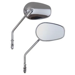 Custom Chrome Guardian Mirror Set