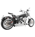 Freedom Performance Declaration Turn-Out Exhaust System For Harley Softail Rocker 2008-2010