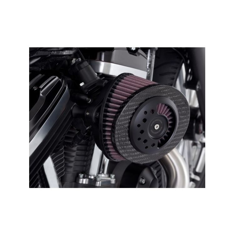 Roland Sands Slant Carbon Fiber Air Cleaner For Harley 2008-2017