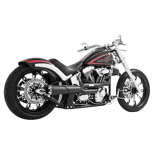 Freedom Performance American Outlaw High 2-Into-1 Exhaust For Harley