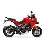 Remus Hypercone Slip-On Exhaust Ducati Multistrada 1200 2010-2014 Black Stainless Steel/Carbon Fiber / Slip-On [Previously Installed]