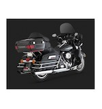 "Vance & Hines 5 1/2"" EPA Twin Slash Slip-On Mufflers For Harley Touring 2009-2011"