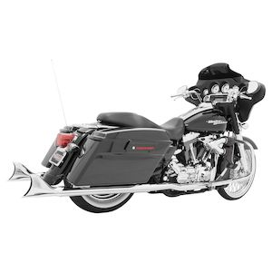 Freedom Performance Sharktail Mufflers For Harley Touring And Trike 1995-2016