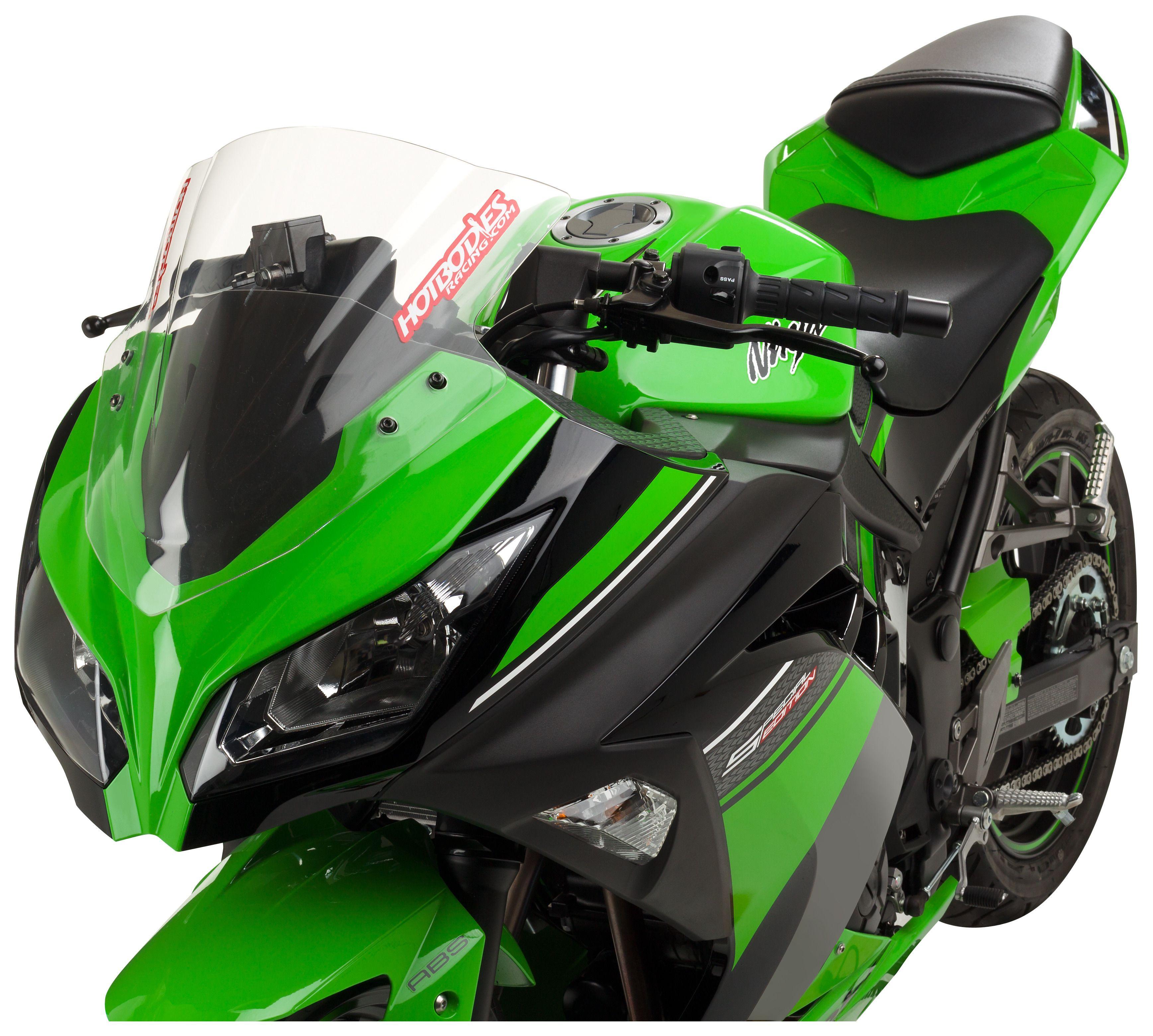 Hotbos GP Windscreen Kawasaki Ninja 300 2013-2017 | 10% ($8.20 ...