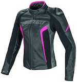 Dainese Racing D1 Perforated Women's Leather Jacket