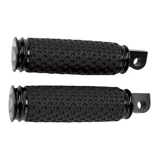 Arlen Ness Soft-Touch Scalloped Footpegs For Harley