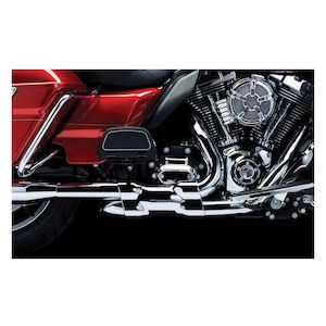 Crusher Dual Headpipes With Power Cell For Harley Touring 2009-2016