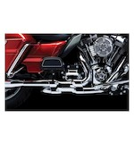 Crusher Dual Headpipes With Power Cell For Harley Touring 2009-2014
