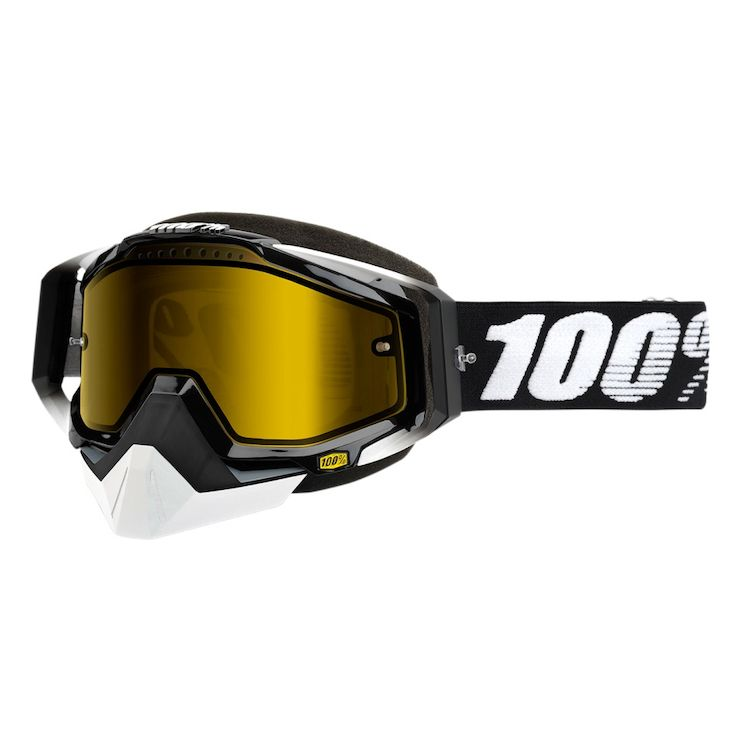 100% Racecraft Snow Goggles - RevZilla