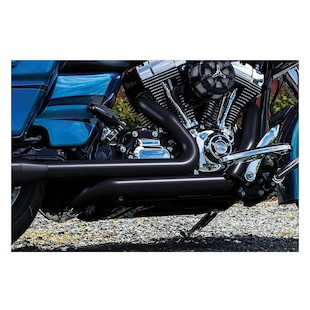 Crusher True Dual Headpipes For Harley Touring 2009-2016