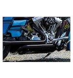 Crusher True Dual Headpipes For Harley Touring 2009-2014