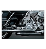 Crusher True Dual Headpipes For Harley Touring 1995-2008