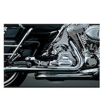 Crusher True Dual Headpipes For Harley Touring