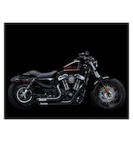 Crusher Maverick 2-Into-2 Exhaust System For Harley Sportster 2004-2018