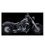 Crusher Exhaust Maverick 2-Into-2 System For Harley Softail 1986-2014