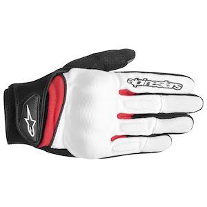 Alpinestars Stella Spartan Gloves White/Black/Red / XS [Blemished]