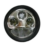 "Custom Chrome 5 3/4"" LED Headlight Insert"