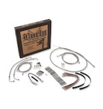 Burly Handlebar Cable Installation Kit For Harley Street / Electra Glide 2008-2013