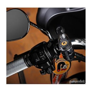 "Powerlet 1-1/8"" To 1-1/4"" Handlebar Outlet With Ram Ball"