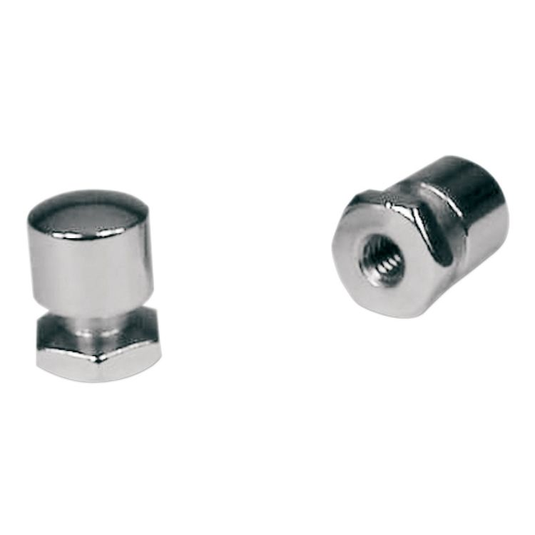 Mustang Solo Seat Mounting Nuts For Harley Touring 1999-2021