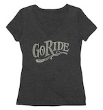 Roland Sands Women's Go Ride V-Neck T-Shirt