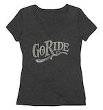 Roland Sands Women's Go Ride V-Neck T-Shirt