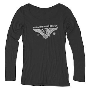 Roland Sands Horsepower L/S Women's T-Shirt